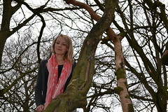 Becky up a tree. (Ben Cox Photography) Tags: