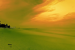 #350F0867- Clouds and Sand (Zoemies...) Tags: sunset beach clouds balikpapan melawai zoemies