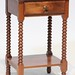 94. Antique Spool Leg Stand