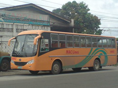 M.A.C. Lines 88002 (Bus Ticket Collector) Tags: bus pub philippines daewoo marikina lagro divisoria macline pbpa maclines philippinebusphotographersassociation