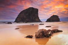 Domination (SoniaMphotography) Tags: travel seascape beach sunrise canon landscape photography rocks australia roadtrip nsw huge narooma glasshouserocks