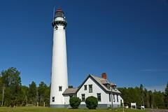 Presque Isle Lighthouse (new), MI (hatchski) Tags: ocean new light sea lighthouse lake beach mi coast lighthouses michigan great lakes greatlakes shore isle lakehuron presque presqueislelighthousenew
