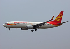 Hainan Airlines Boeing 737-84P(WL) B-5371 (rickihuang) Tags: china plane airplane airport aviation capital beijing international civil  boeing  winglet airlines 800 hainan  airliner 737 pek    zbaa 738 hna          b5371 84pwl