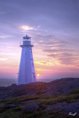 Cape Spear (gwhiteway) Tags: travel light lighthouse house canada tower tourism clouds america sunrise newfoundland point day north cape nl spear easterly impressedbeauty mygearandme