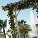 "Outdoor Ceremony fountain arch • <a style=""font-size:0.8em;"" href=""http://www.flickr.com/photos/77063495@N05/7495831838/"" target=""_blank"">View on Flickr</a>"