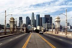 Los Angeles Skyline (Andy961) Tags: california ca skyline losangeles cityscape bridges