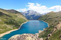 Bissorte Dam, Savoie, France (corleone00) Tags: mountain france montagne hiking hike savoie fra randonnée rhonealpes
