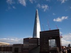(katrin glaesmann) Tags: uk greatbritain summer england holiday london renzopiano southwark 2012 shardofglass theshard londonbridgetower shardlondonbridge 20092012