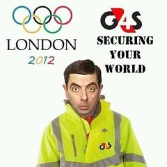 Olympic security (steve kirk photos) Tags: england man photo pix photos pics britain pic bean photographs photograph abc eastanglia mrbean webshots easternengland webshotscom abcdefghijklmnopqrstuvwxyz0123456789 g4s flickrandroidapp:filter=none abbellio wallywebb
