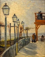 Vincent va Gogh - Terrace and Observation Deck at the Moulin de Blute-Fin, Montmartre, 1887 at Art Institute of Chicago IL (mbell1975) Tags: usa art dutch museum painting us gallery museu fine arts musée musee m impressionism museo artic impression impressionist muzeum aic müze museumuseum chicagoillinoisunitedstatesvincentvagoghterraceandobservationdeckatthemoulindeblutefinmontmartre 1887atartinstituteofchicagoil