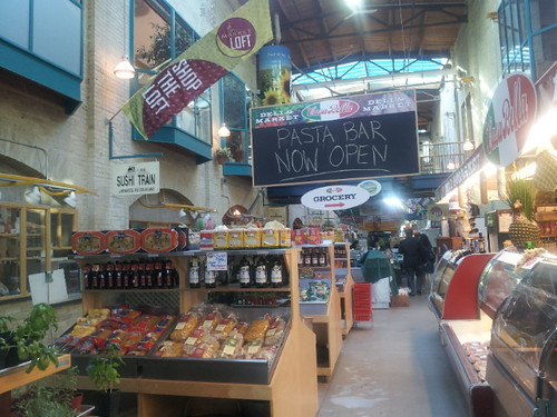 The Forks Market in Winnipeg, Manitoba