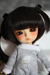 Norine's new pajamas (*Peluche*) Tags: yellow handmade tan prince limited pajamas petit norine lati kuroo