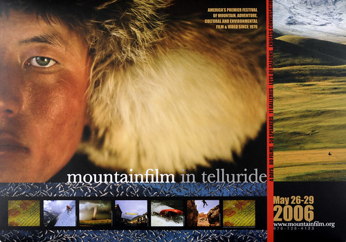 2006 Mountainfilm in Telluride Festival Poster
