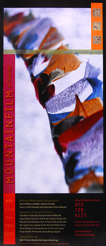 2003 Mountainfilm in Telluride Festival Poster
