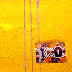 sma wall detail #142  / address (msdonnalee) Tags: muro yellow wall jaune square pared drip amarillo squareformat minimalism minimalismo minimalist address stucco lessismore minimalisme abstractreality minimalismus  handpaintedceramictile addresstile  photosfromsanmigueldeallende mininalisme wallsofsanmigueldeallende fotosdesanmigueldeallende