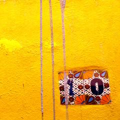 sma wall detail #142  / address (msdonnalee) Tags: yellow amarillo jaune wallsofsanmigueldeallende wall muro pared address addresstile handpaintedceramictile drip minimalism stucco fotosdesanmigueldeallende photosfromsanmigueldeallende squareformat square ミニマリズム minimalismo minimalisme minimalismus minimalist mininalisme lessismore минимализм abstractreality donnacleveland