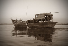 Afloat (cormend) Tags: trip travel canon eos asia tour state burma tourist independent myanmar southeast kayin 50d burmanie hpaan cormend