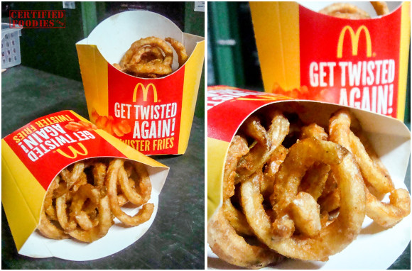 McDonald's Twister Fries back in 2010