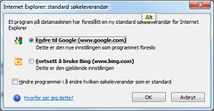 Bing Bye Bye (mrjorgen) Tags: google defeat internetexplorer bing defaultsearchengine standardskemotor
