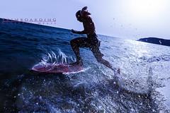 Skimboarding (giusmelix) Tags: sardegna italy beach silhouette backlight canon eos italia mare sardinia action mark iii freezing 5d skimboarding controluce mkiii mk3 azione giusmelix
