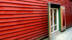 Colourful Norway (+PeterCH51+) Tags: houses red norway buildings wooden unesco colourful bergen scandinavia unescoworldheritage bryggen hanseatic hanseaticleague mywinners flickraward peterch51 flickrtravelaward