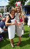 Aoibhin Garrihy and her mother Clare Garrihy Blossom Hill Dublin Horse Show - Ladies Day Dublin, Ireland