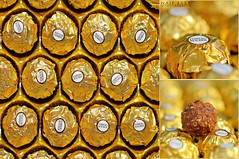 Ferrero Rocher *   (Naif AL-Essa) Tags: macro canon photography eos photographer flash 100mm ii 7d usm essa ferrero f28 ef rocher 580ex    naif speedlite alessa                       alharbi     albishri