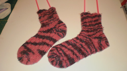 Red Licorice Socks