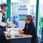 Meg Rosoff book signing