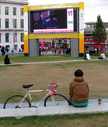 Watching in Woolwich