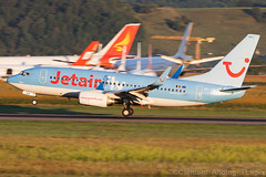 Jetairfly (TUI Airlines Belgium) Boeing 737-7K5 OO-JAR cn 35150/2825 (Clment Alloing - CAphotography) Tags: cn canon airplane airport belgium aircraft flight boeing airlines aeroport aeropuerto spotting tui lourdes pyrnes tlp tarbes 100400 lde jetairfly 7377k5 lfbt oojar 351502825