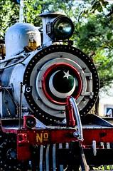 Steaml locomotive (ShaukatNiazi) Tags: pakistan people station portraits lens dc nikon control railway f2 nikkor islamabad defocus 105mm shaukat niazi golra d7000