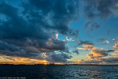 Autumn sky (robvanderwaal) Tags: sunset sky cloud sun clouds zonsondergang herfst wolken lucht 2012 wolk authumn rvdwaal robvanderwaalfotografienl authumnsky