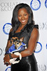 Jamelia Davis, Battersea Dogs & Cats Home's Collars & Coats Gala Ball 2012 held at the Battersea Evolution - Arrivals. London, England