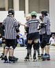 Charm City Roller Girls (Karol A Olson) Tags: referee rollerderby baltimore skates fatalattraction charmcityrollergirls ccrg nightterrors speedregime mar14 burnsarena