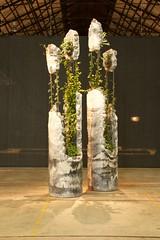 vegetals in concrete (Val in Sydney) Tags: art artwork sydney australia nsw biennale redfern australie carriageworks