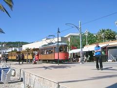 Mallorca - Port de Sller - alte Tranvia (Strassenbahn) (ohaoha) Tags: island spain europa europe mediterranean south insel espana mallorca spanien majorca strassenbahn baleares balearen southerneurope sdeuropa portdesller balearicisland holzbahn altetranvia