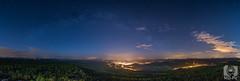 Hoher Schneeberg (MD-Pic) Tags: panorama moon night stars mond nikon czech nacht tschechien moonlight sterne milkyway elbsandsteingebirge dn mondschein tschechei bhmischeschweiz bohemianswitzerland tetschen d7100 milchstrase