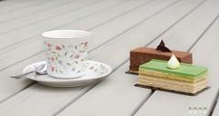 Afternon Tea (SM-A-MS) Tags: tea coffee france paris le flour cake dessert