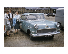 Vehicle Collection (6961) - Opel Rekord (Steve Given) Tags: france automobile tourists 1960s familycar socialhistory opelrekord motorvehicle