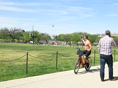 IMG_0409 (FOTOSinDC) Tags: shirtless man hot bike candid handsome biker shorts
