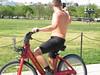 IMG_0438 (FOTOSinDC) Tags: shirtless man hot bike candid handsome biker shorts
