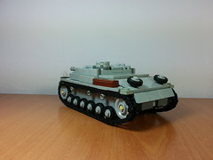 StuG III ausf. G back (italianww2builder) Tags: war tank lego iii destroyer ww2 custom panzer stug