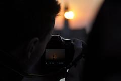 Immagine nell'immagine (paolo bonfanti) Tags: nikon tramonto ponte campanile verona sole colori immagine