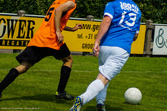 Soccer 04-06-'16 (Diverse-Media.nl) Tags: orange holland green sports netherlands grass sport ball football groen soccer nederland player gras players flintstones voetbal bal flinstones nederlandse sportive speler spelers hoornaar stedoco