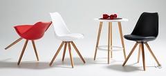 bralf-gambe-in-legno-sedia-in-polipropilene-colore-nero-bianco-rosso-e-grigio-seduta-con-cuscino-struttura-faggio (design italiano) Tags: sedia seduta plastica polipropilene imbottita