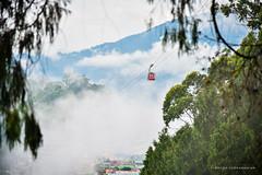 A walk in the cloud (subbz) Tags: india nikon northeast sikkim ropeway gangtok subhodhsubramanian nikond750