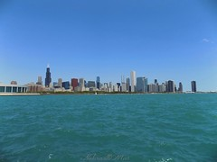 Chicago (NaturewithMar) Tags: travel lake chicago tower water landscape illinois nikon downtown day cityscape michigan coolpix willis l330