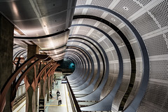 Los Angeles   |   Hollywood / Highland Station (JB_1984) Tags: california ca usa station subway la losangeles unitedstates metro tunnel socal hollywood southerncalifornia redline metrorail cityofangels losangelescounty hollywoodhighlandstation
