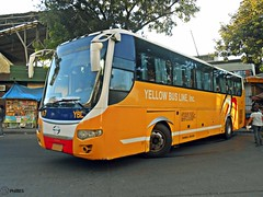 Yellow Bus Line A-7 (Monkey D. Luffy 2) Tags: road city bus public photography photo nikon philippines transport ve vehicles transportation coolpix vehicle society hino davao rk philippine grandeza enthusiasts ecoland philbes rk1jst rk1jmt rk1jstl